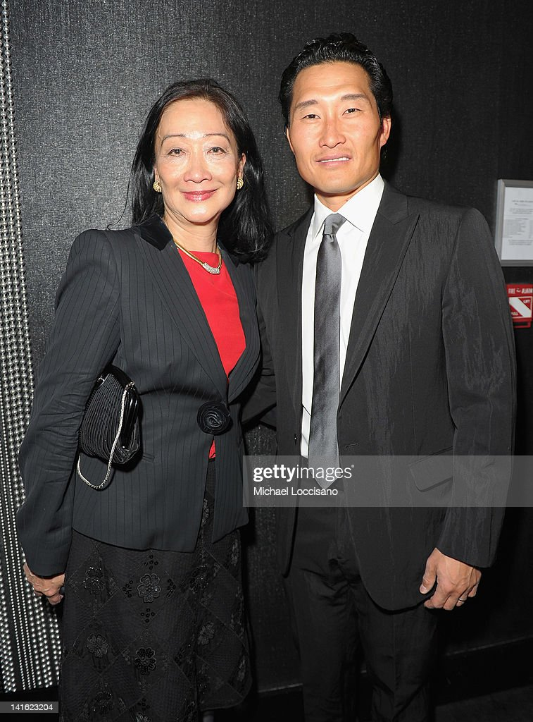 Tina Chen and actor/honoree <a gi-track='captionPersonalityLinkClicked' href=/galleries/search?phrase=Daniel+Dae+Kim&family=editorial&specificpeople=581168 ng-click='$event.stopPropagation()'>Daniel Dae Kim</a> attends 'Legacy And Homecoming' the Pan Asian Repertory's 35th Anniversary Gala at The Edison Ballroom on March 19, 2012 in New York City.