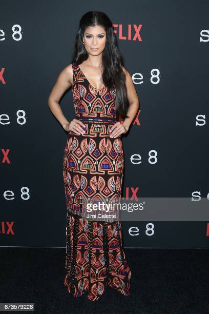 Tina Desai attend the Season 2 Premiere of Netflix's 'Sense8' at AMC Lincoln Square Theater on April 26 2017 in New York City