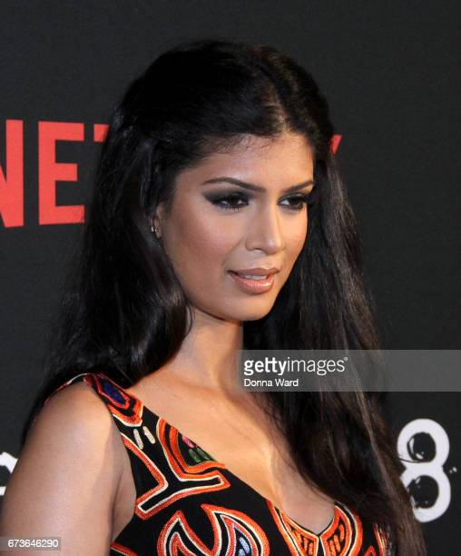Tina Desai attends the 'Sense8' New York Premiere at AMC Lincoln Square Theater on April 26 2017 in New York City