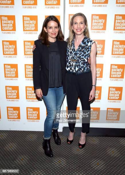 Tina Fey and ballerina Wendy Whelan attend the 'Restless Creature Wendy Whelan' Opening Night Screening at Elinor Bunin Munroe Film Center on May 24...