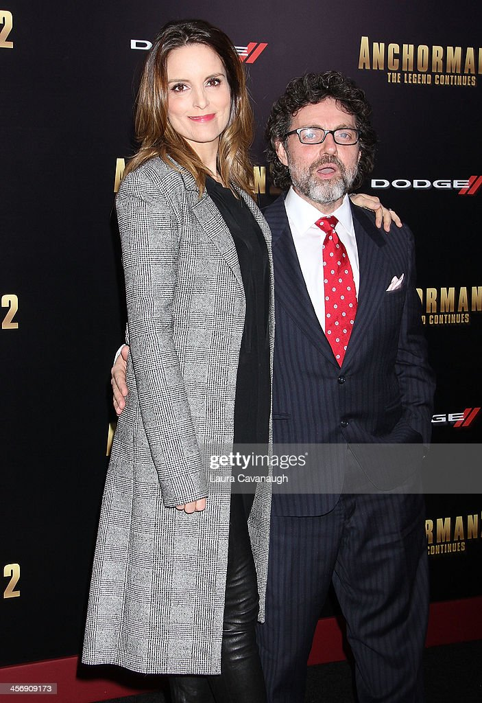 <a gi-track='captionPersonalityLinkClicked' href=/galleries/search?phrase=Tina+Fey&family=editorial&specificpeople=206753 ng-click='$event.stopPropagation()'>Tina Fey</a> and <a gi-track='captionPersonalityLinkClicked' href=/galleries/search?phrase=Jeff+Richmond&family=editorial&specificpeople=2121745 ng-click='$event.stopPropagation()'>Jeff Richmond</a> attend the 'Anchorman 2: The Legend Continues' U.S. premiere at Beacon Theatre on December 15, 2013 in New York City.