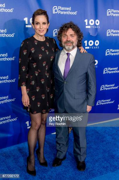 Tina Fey and Jeff Richmond attends the Planned Parenthood 100th Anniversary Gala at Pier 36 on May 2 2017 in New York City