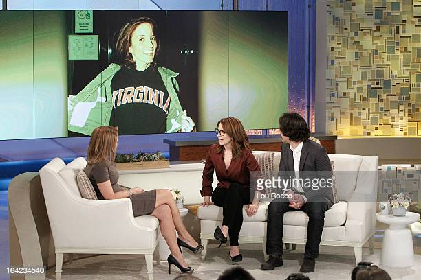 KATIE 3/20/13 Tina Fey and Paul Rudd starring together in the new film 'Admission' talk about the cost of college on KATIE distributed by DisneyABC...
