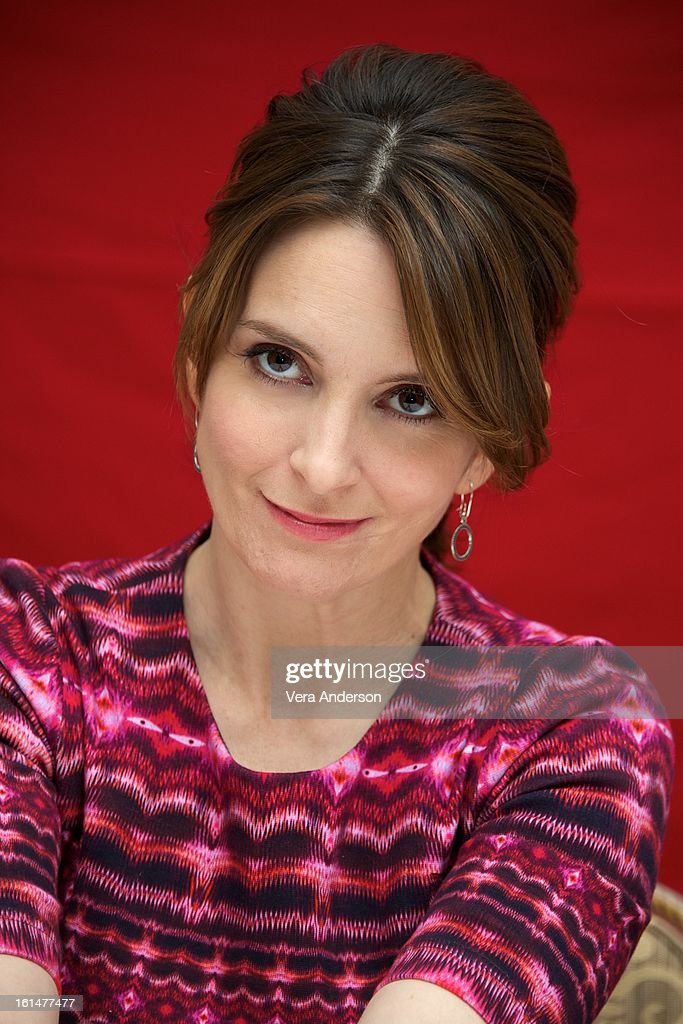 <a gi-track='captionPersonalityLinkClicked' href=/galleries/search?phrase=Tina+Fey&family=editorial&specificpeople=206753 ng-click='$event.stopPropagation()'>Tina Fey</a> at the 'Admission' Press Conference at the Four Seasons Hotel on February 8, 2013 in New York City.