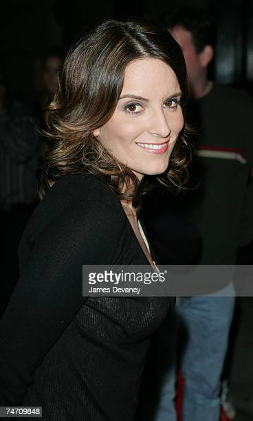 Tina Fey at the America in New York City New York