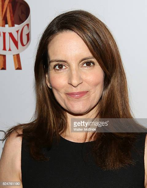 Tina Fey attending the Broadway Opening Night performance for 'Tuck Everlasting' at the Brooks Atkinson Theatre on April 26 2016 in New York City