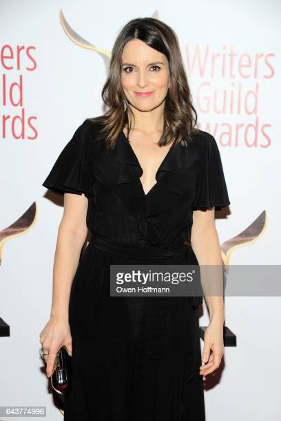 Tina Fey attends 69th Writers Guild Awards at Edison Ballroom on February 19 2017 in New York City