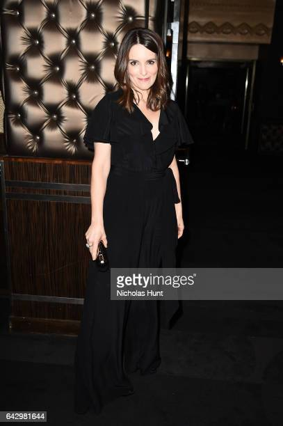Tina Fey attends 69th Writers Guild Awards New York Ceremony at Edison Ballroom on February 19 2017 in New York City