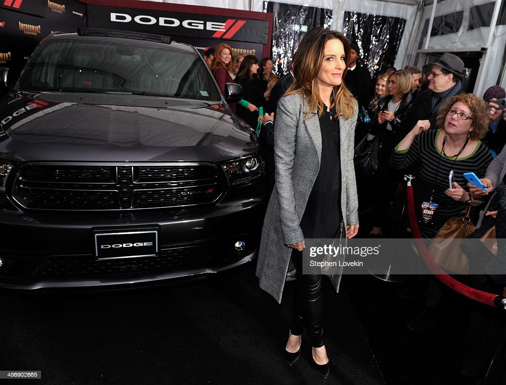 <a gi-track='captionPersonalityLinkClicked' href=/galleries/search?phrase=Tina+Fey&family=editorial&specificpeople=206753 ng-click='$event.stopPropagation()'>Tina Fey</a> attends 'Anchorman 2' Premiere NYC Sponsored By Dodge at Beacon Theatre on December 15, 2013 in New York City.