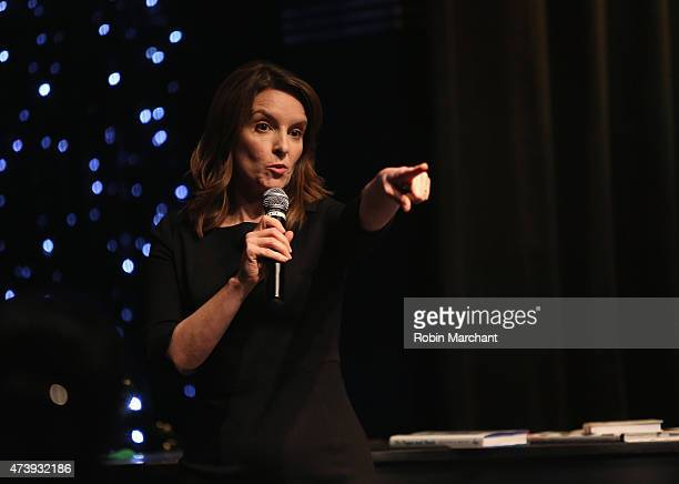 Tina Fey attends the 2nd Annual LOL With LLS Comedy Night to benefit the Leukemia Lymphoma Society on May 18 2015 in New York City
