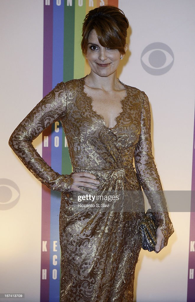<a gi-track='captionPersonalityLinkClicked' href=/galleries/search?phrase=Tina+Fey&family=editorial&specificpeople=206753 ng-click='$event.stopPropagation()'>Tina Fey</a> attends the 35th Kennedy Center Honors at the Kennedy Center Hall of States on December 2, 2012 in Washington, DC.