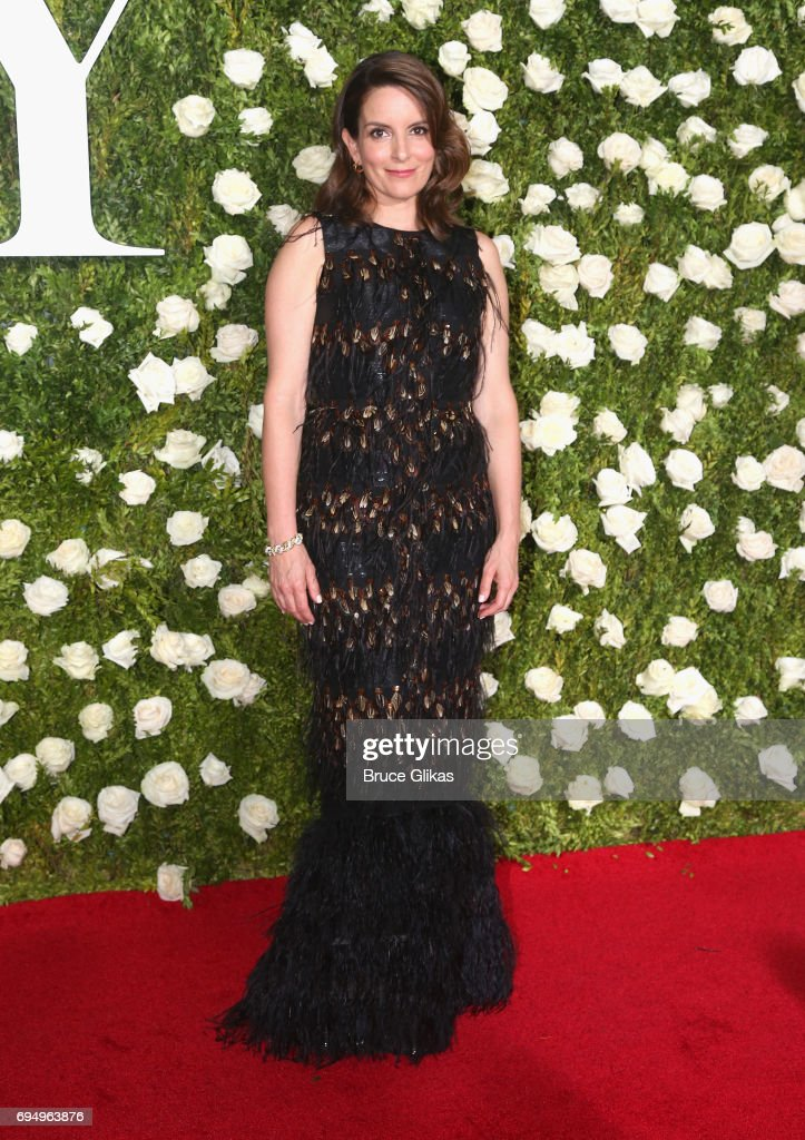 Tina Fey attends the 71st Annual Tony Awards at Radio City Music Hall on June 11, 2017 in New York City.