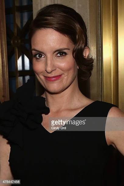 Tina Fey attends The 74th Annual Peabody Awards Ceremony at Cipriani Wall Street on May 31 2015 in New York City