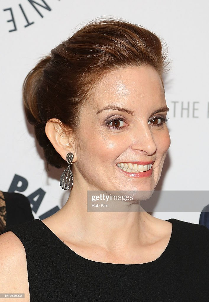 Tina Fey attends The Paley Center for Media Presents: 'Hey Dummies: An Evening With The 30 Rock Writers' at The Paley Center for Media on February 27, 2013 in New York City.
