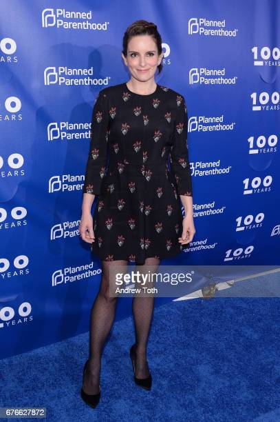 Tina Fey attends the Planned Parenthood 100th Anniversary Gala at Pier 36 on May 2 2017 in New York City