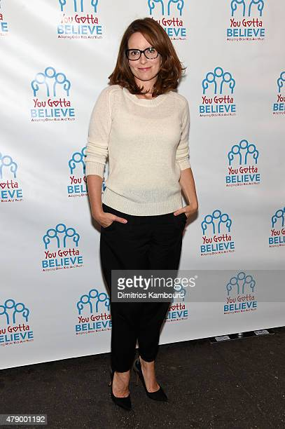 Tina Fey attends Voices For The Voiceless Stars For Foster Kids at St James Theater on June 29 2015 in New York City