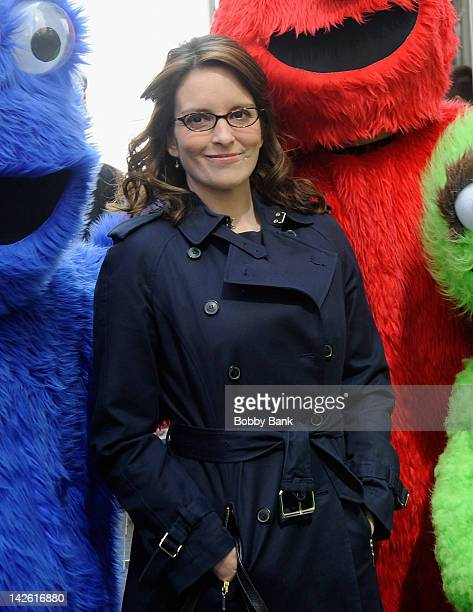 Tina Fey filming on location for '30 Rock' on April 9 2012 in New York City
