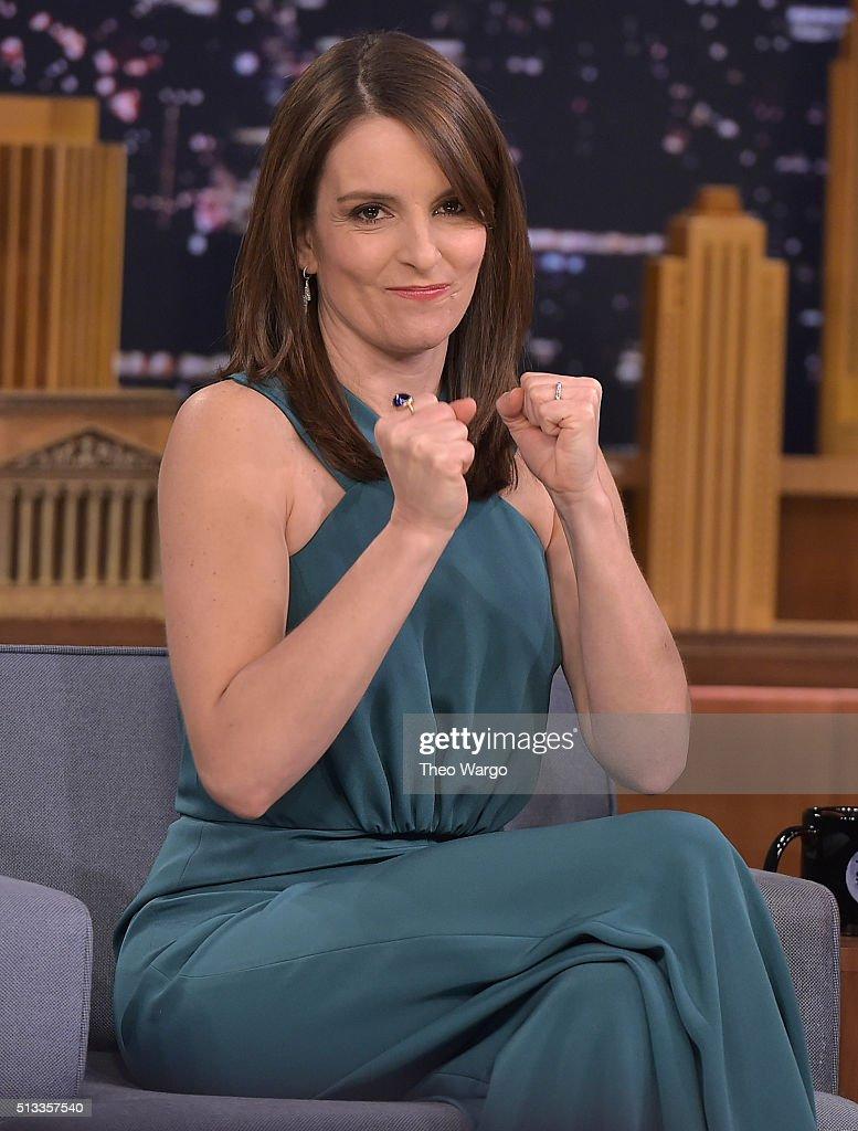"Tina Fey Visits ""The Tonight Show Starring Jimmy Fallon"""
