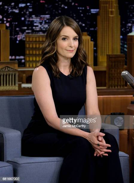 Tina Fey visits 'The Tonight Show Starring Jimmy Fallon' at Rockefeller Center on May 10 2017 in New York City