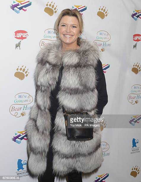 Tina Hobley attends a screening of We're Going on a Bear Hunt at the Empire Leicester Square in central London