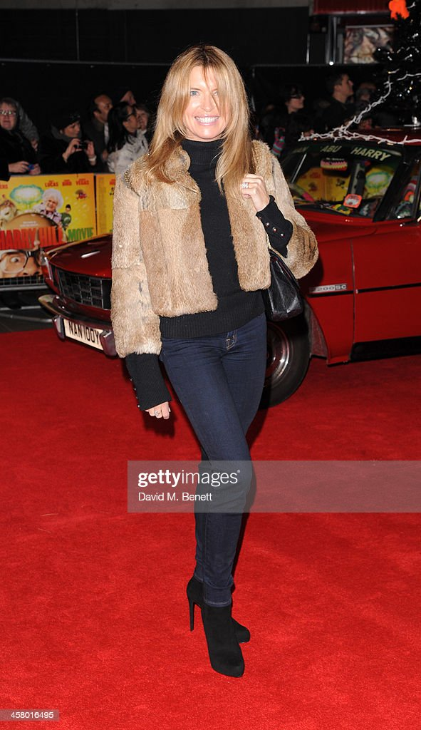 <a gi-track='captionPersonalityLinkClicked' href=/galleries/search?phrase=Tina+Hobley&family=editorial&specificpeople=206981 ng-click='$event.stopPropagation()'>Tina Hobley</a> attends 'The Harry Hill Movie' World Premiere at Vue Leicester Square on December 19, 2013 in London, England.