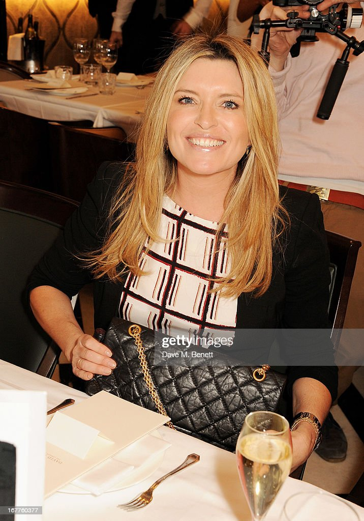 Tina Hobley attends the launch of Cash & Rocket, in aid of the (Red) Rush to Zero campaign, at Banca Restaurant on April 29, 2013 in London, England.