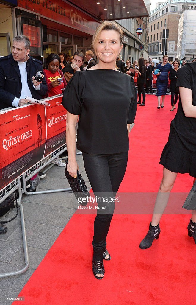 <a gi-track='captionPersonalityLinkClicked' href=/galleries/search?phrase=Tina+Hobley&family=editorial&specificpeople=206981 ng-click='$event.stopPropagation()'>Tina Hobley</a> attends the World Premiere of 'The Quiet Ones' at the Odeon West End on April 1, 2014 in London, England.