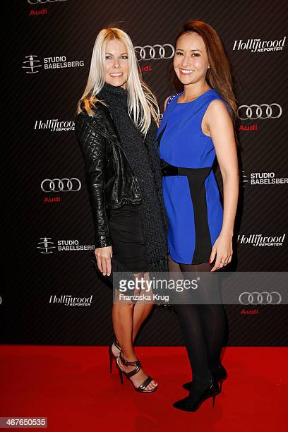 Tina Kaiser and Sinta Weisz attends the 'Studio Babelsberg Berlinale Party Audi At The 64th Berlinale International Film Festival at Borchardt...