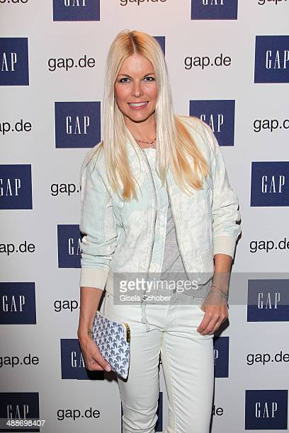 Tina Kaiser attends the GAP PopUp Shop Opening on May 7 2014 in Munich Germany