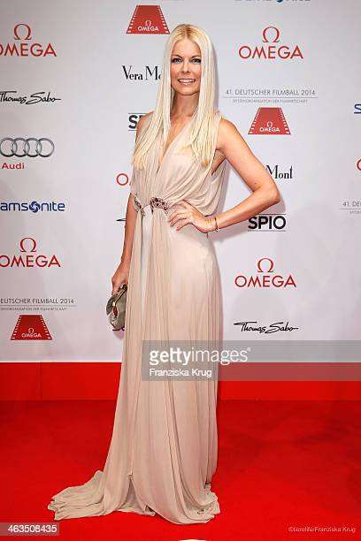 Tina Kaiser attends the German Film Ball 2014 on January 18 2014 in Munich Germany