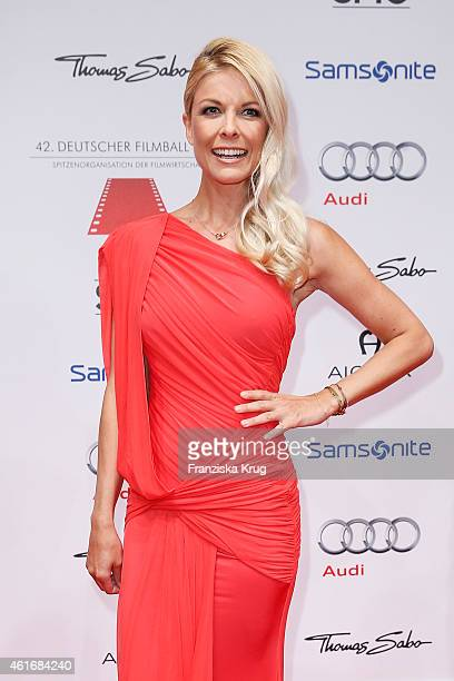 Tina Kaiser attends the German Film Ball 2015 on January 17 2015 in Munich Germany