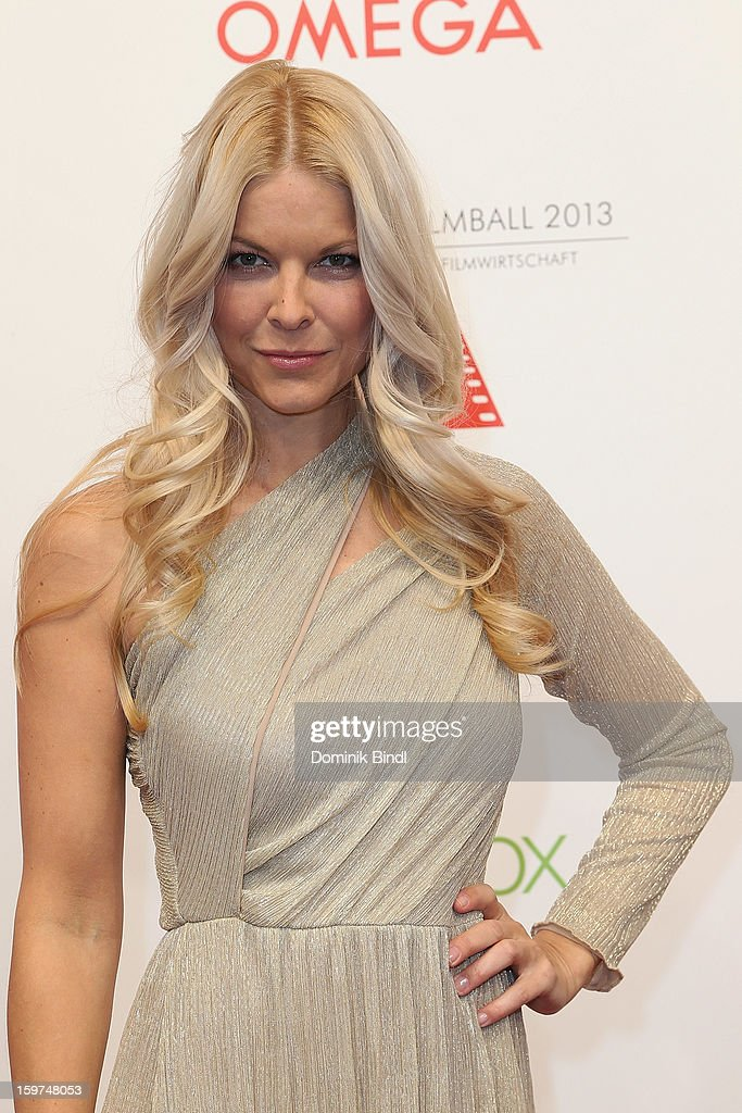 Tina Kaiser attends the Germany Filmball 2013 at Hotel Bayerischer Hof on January 19, 2013 in Munich, Germany.