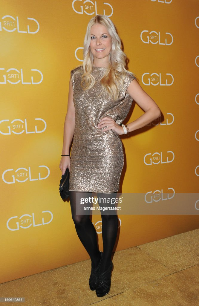 Tina Kaiser attends the Sat.1 GOLD TV Channel Launch at the Filmcasino on January 17, 2013 in Munich, Germany.