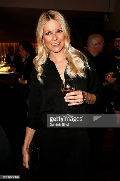 Tina Kaiser attends the Thomas Sabo grand flagship store opening on October 14 2015 in Munich Germany
