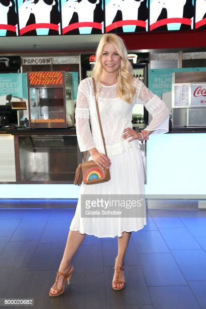 Tina Kaiser during the opening night of the Munich Film Festival 2017 at Mathaeser Filmpalast on June 22 2017 in Munich Germany