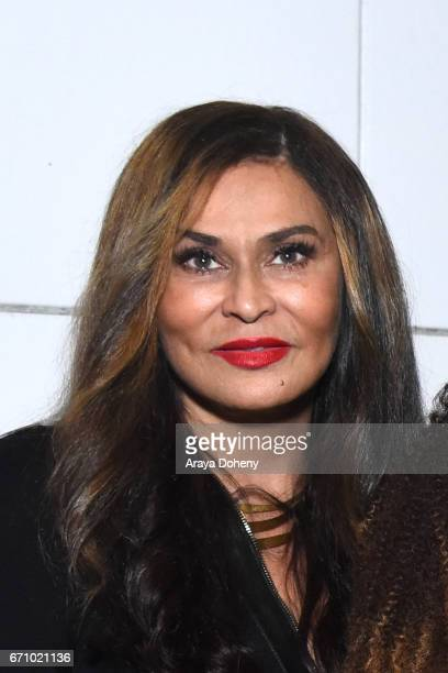 Tina Knowles attends the Film Independent at LACMA Special Screening and QA of 'The Life Of Henrietta Lacks' at Bing Theatre At LACMA on April 20...