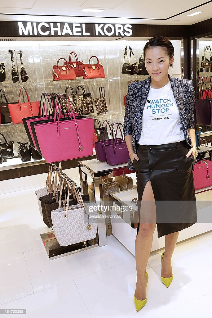 Tina Leung attends Michael Kors World Food Day - Hong Kong on October 16, 2013.