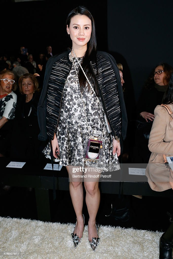 <a gi-track='captionPersonalityLinkClicked' href=/galleries/search?phrase=Tina+Leung+-+Stylist&family=editorial&specificpeople=8222971 ng-click='$event.stopPropagation()'>Tina Leung</a> attends the Giambattista Valli show as part of the Paris Fashion Week Womenswear Fall/Winter 2014-2015 on March 3, 2014 in Paris, France.