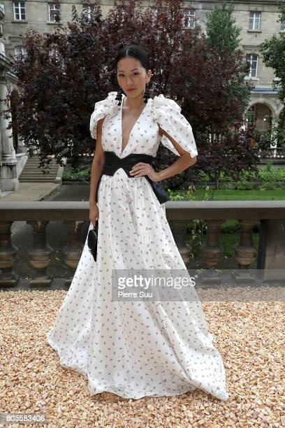 Tina Leung attends the Proenza Schouler Haute Couture Fall/Winter 20172018 show as part of Haute Couture Paris Fashion Week on July 2 2017 in Paris...