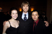 Tina Majorino Jon Heder and Efren Ramirez during 10th Annual Critics' Choice Awards Audience and Backstage at Wiltern LG Theater in Los Angeles...