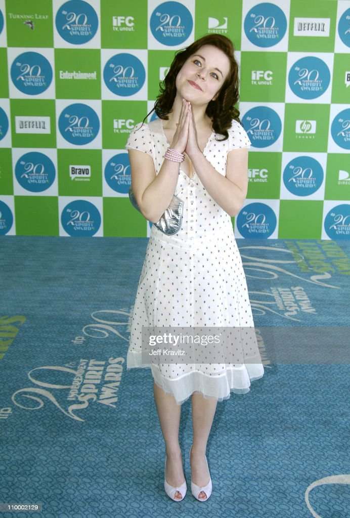 Tina Majorino of Napoleon Dynamite during 20th IFP Independent Spirit Awards Arrivals at Santa Monica Beach in Santa Monica California United States