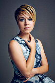 Tina Majorino poses for a portrait at the Getty Images Portrait Studio powered by Samsung Galaxy at ComicCon International 2014 on July 24 2014 in...