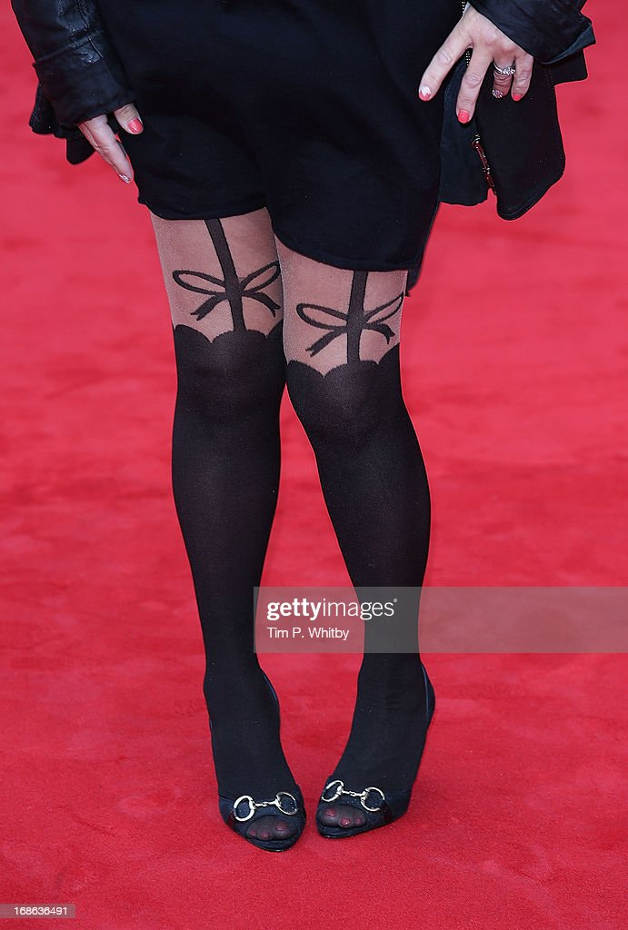 Tina Malone attends the Arqiva British Academy Television Awards 2013 at the Royal Festival Hall on May 12, 2013 in London, England.
