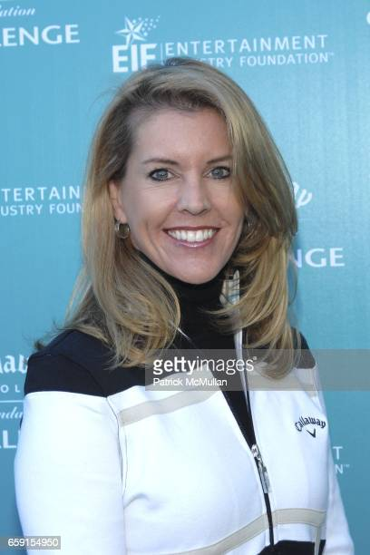 Tina Michelson attends Callaway Golf Foundation Challenge Benefitting Entertainment Industry Foundation Cancer Research Programs at Riviera Country...