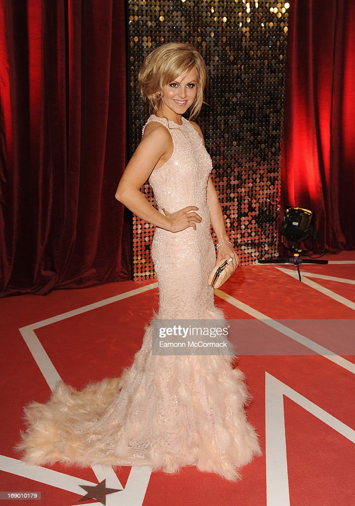 Tina O'Brien attends the British Soap Awards at Media City on May 18, 2013 in Manchester, England.