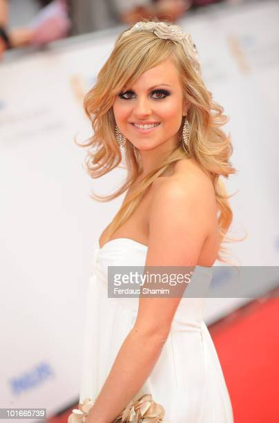 Tina O'Brien attends the Philips British Academy Television awards at London Palladium on June 6 2010 in London England