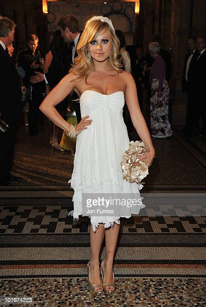 Tina O'Brien attends the Philips British Academy Television Awards after party at the Natural History Museum on June 6 2010 in London England
