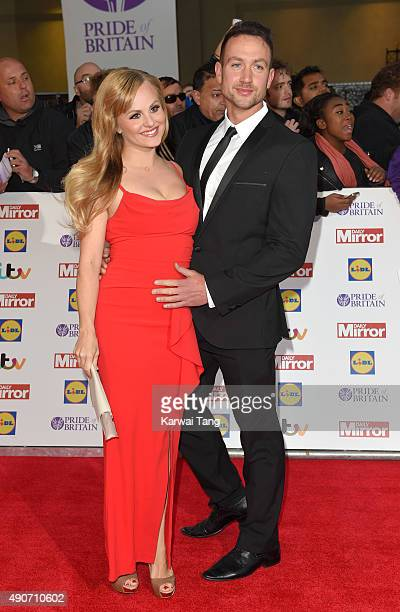Tina O'Brien attends the Pride of Britain awards at The Grosvenor House Hotel on September 28 2015 in London England