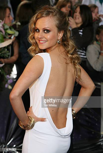 Tina O'Brien during British Soap Awards 2006 Arrivals at BBC Television Centre in London Great Britain