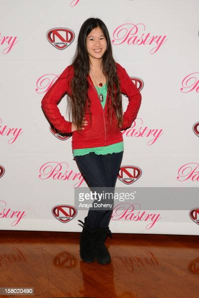 Tina Q Nguyen attends the Pastry Shoes Presents 'Skate Donate' event at Moonlight Rollerway on December 8 2012 in Glendale California